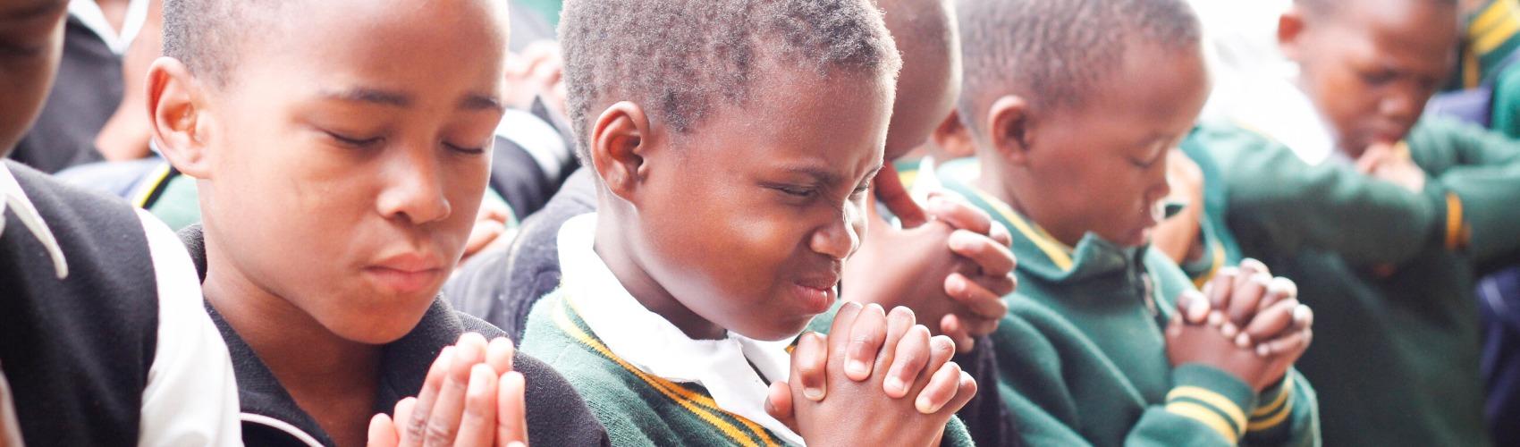 祈りの画像