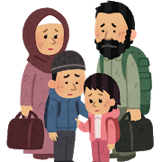 難民の画像